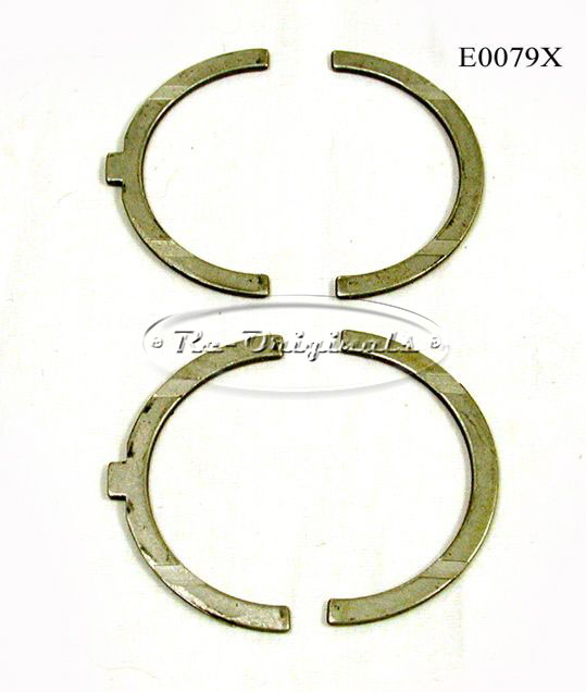 Bearings, main, specify standard or which oversized desired, 2000 only - E0079X
