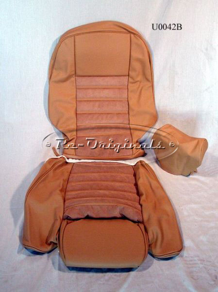 Seat Covers With The Italian Alcantara Suede Insets