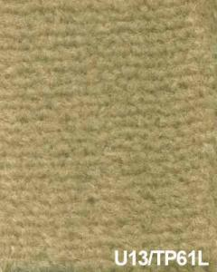 Carpet, original Italian beige wool, jute back, short pile, 2 mt.  wide - U13/TP61L