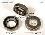 Throw-out bearing, 73.5mm OD x 45mm/41.25mm ID x 20.7mm width - E0202