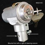 Ignition switch, new manufacture, fits left or right side of steering column. - N0021XC