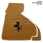 Carpet saver, with inlaid horse.  Specify color. - U0137D